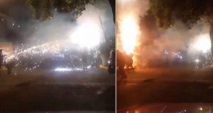 Explosión de pirotecnia en Xochimilco deja al menos ocho heridos