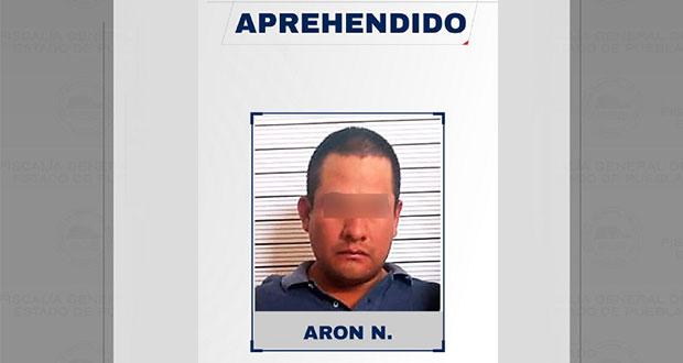Aprehende FGE a presunto homicida de taquero en San Andrés Cholula