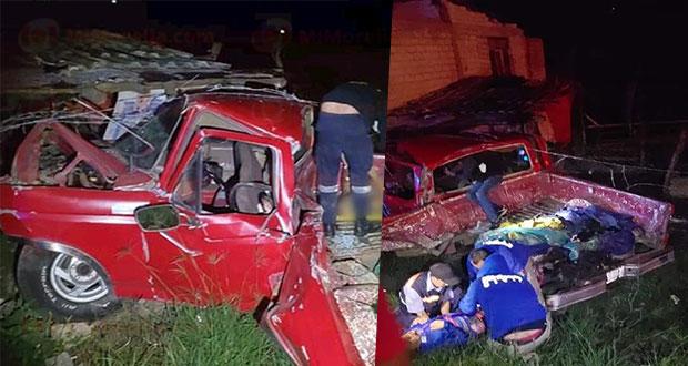 Muren 3 poblanos en accidente en autopista de Occidente, Michoacán