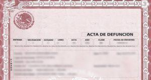 Gobierno digitalizará 100 mil actas de defunción para agilizar búsqueda