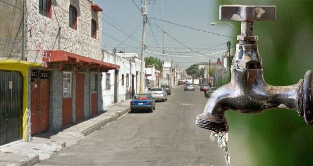Agua de Puebla cobra decenas de miles a casas de Santa María sin dar razón