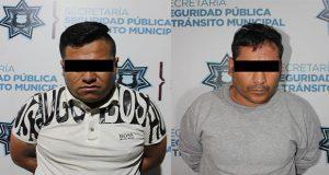 SSC detiene a dos hombres y dos menores por robo a transeúnte