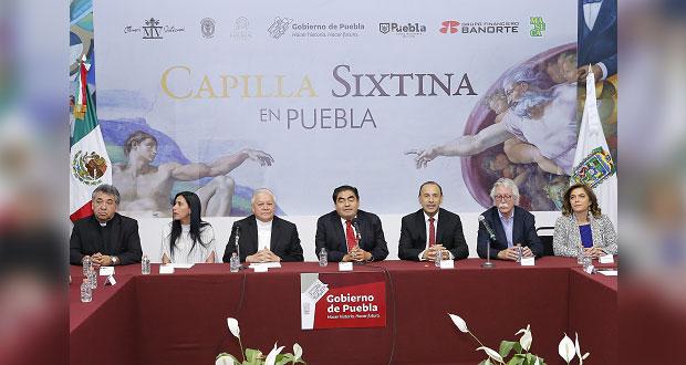 Se instalará en atrio de la Catedral réplica de la Capilla Sixtina
