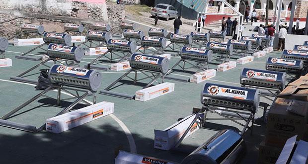 Bienestar destina 27 mdp para 12,500 calentadores solares