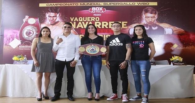 Puebla, sede de función de box de campeonato mundial supergallo