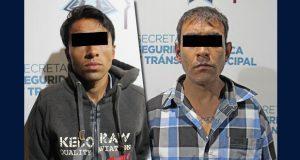 En diferentes hechos, SSC detiene a dos delincuentes