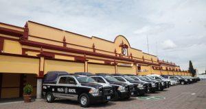 Con inversión de 10 mdp, dan 16 patrullas para San Andrés Cholula