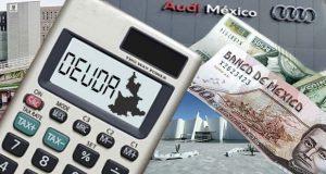 Baja 4% deuda por MIB, CIS y plataformas Audi; se deben 6,544 mdp