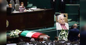 Muere diputado federal de Morena; en San Lázaro, le rinden homenaje