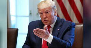 Trump acusa a la demócrata Nancy Pelosi de retrasar firma del T-MEC
