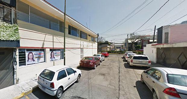 Asaltan oficinas del comité estatal del PSI en Puebla capital