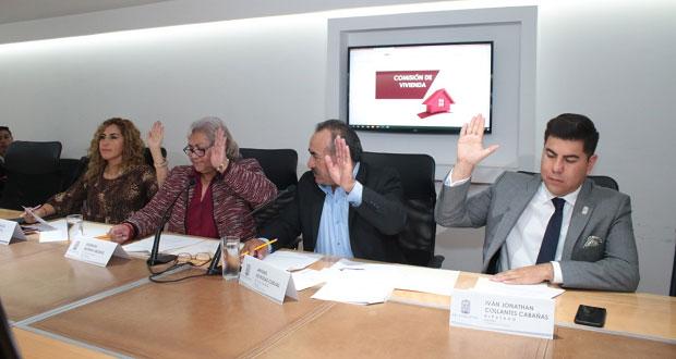 Avanza exhorto para crear Instituto Estatal de la Vivienda