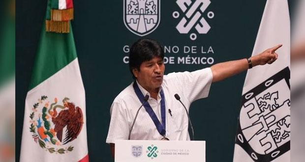Rechazo de poderosos a nacionalizar litio, detrás de golpe militar: Morales