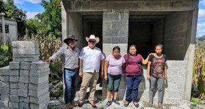 29 familias de Tulcingo serán beneficiadas con vivienda