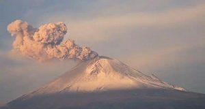 Popocatépetl registra explosión moderada en las últimas horas
