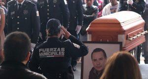 Exigiendo justicia, dan último adiós al alcalde de Valle de Chalco