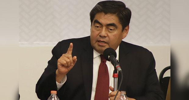 Se integran expedientes para denunciar corrupción de antecesores: Barbosa