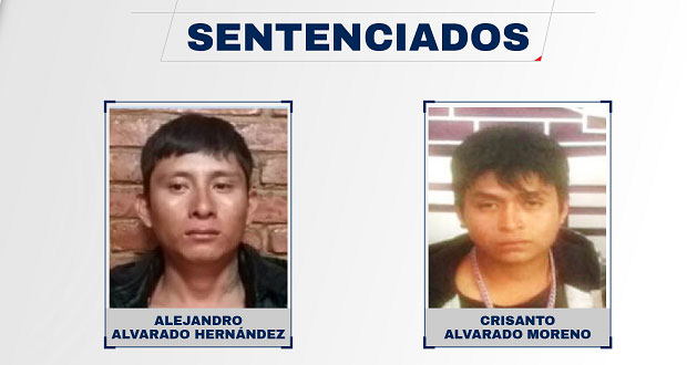 Sentencian a 2 hombres a 21 años de prisión por homicidio en Tlaola