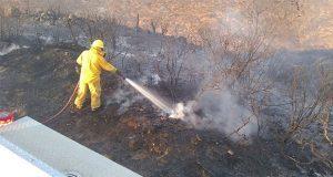 Tras 10 días de trabajos, sofocan incendios en Baja California