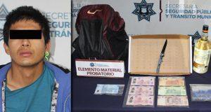 Detienen a asaltante de tienda Oxxo en el Barrio de Santiago