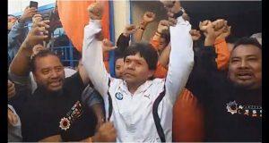 Nuevo líder del Sitiavw no permitiría intromisión de CTM y ofrece unidad