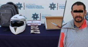 Detienen en Granjas de San Isidro a presunto ladrón de gasolinera