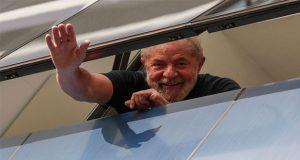 En Brasil, juez ordena libertad del expresidente Lula da Silva