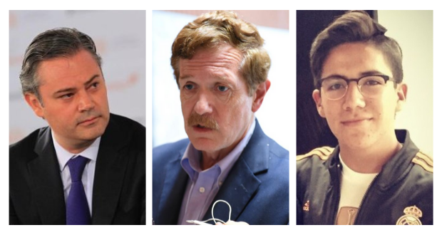 Nuño, Hicks e hijo de Calderón, detrás de ataques contra prensa en Twitter