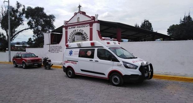 Despliegan operativo en panteones de San Andrés Cholula