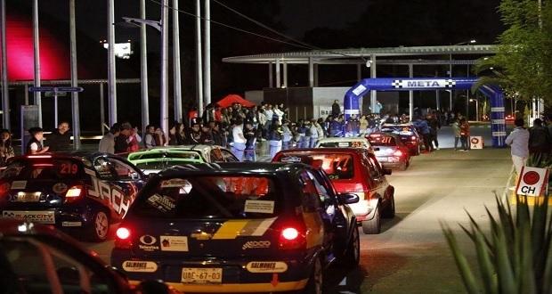 Con 32 autos, arranca Rally Sierra Brava en Puebla capital