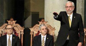 En 2ª rectoría, Graue promete combatir violencia a mujeres en UNAM