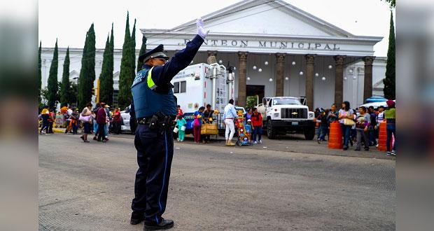 Reporta SSC de Puebla saldo blanco durante Día de Muertos