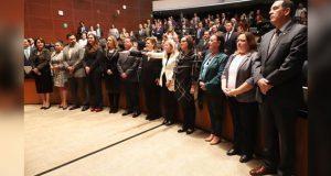 Senado designa a Loretta Ortiz y Eva de Gyves integrantes del CJF