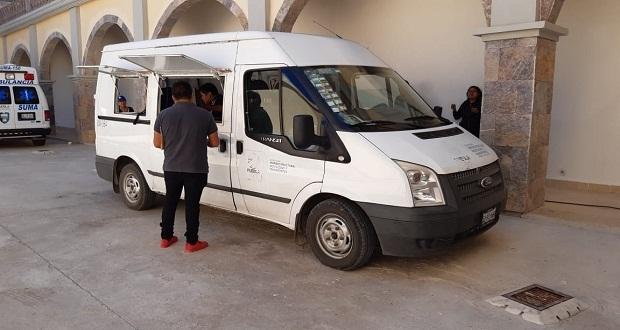 En Ahuatempan, vehículo de SIMT expide licencias de conducir