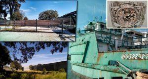 Rancho, buques y joyería, a subasta el 10 de noviembre en Los Pinos