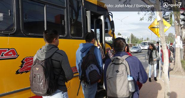 Gobierno dará subsidio de 25 mdp mensuales para tarifa estudiantil: Barbosa