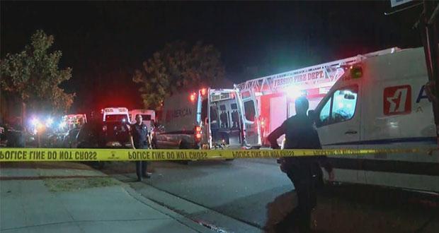Mueren 4 personas tras tiroteo en reunión familiar en California