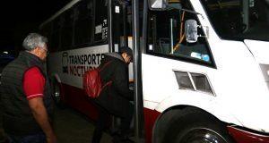 "Inicia prueba piloto de ""Clarobus"", transporte nocturno"