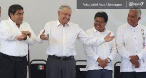 AMLO estará otra vez en Puebla para supervisará avances de Industria Militar