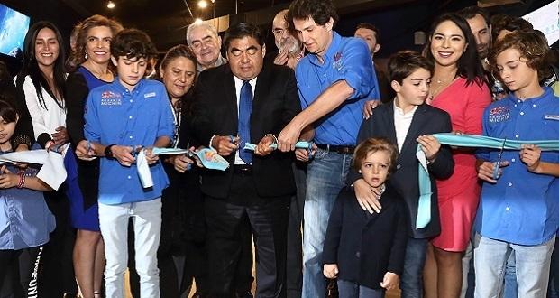 Inaugura Barbosa acuario Michin; alberga 300 especies y dura 2 horas