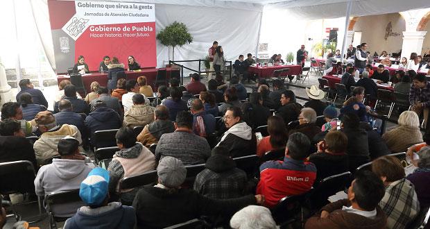 Acuden 2,165 personas al Martes Ciudadano; próxima jornada, el lunes