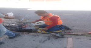 Agua de Puebla vuelve a romper vía pública y corta agua en colonia San Pedro