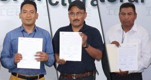 Estos son los ganadores en las 3 juntas auxiliares con plebiscitos. Foto: Especial