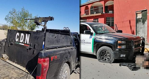 Ataque armado a policías de Villa Unión, Coahuila, deja 20 muertos