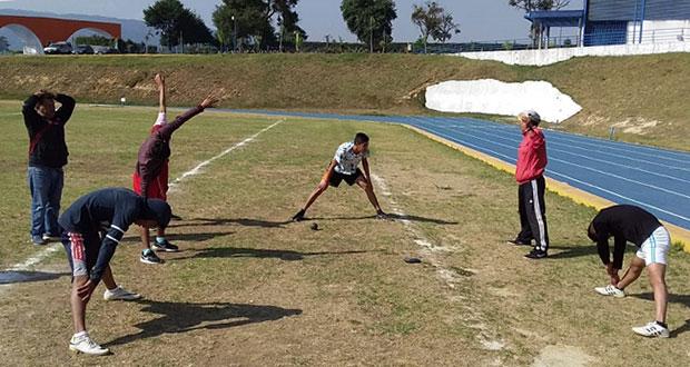 Atletas de Sierra Norte se alistan para ir a Espartaqueada de Antorcha