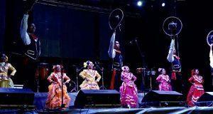 Ballet de Antorcha anima feria en Atlixco con piezas de 3 estados