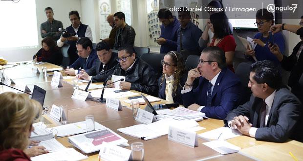 Ley de Ingresos 2020 de Puebla será de 95 mil mdp, aprueban en Comisión