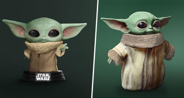 Disney anuncia preventa de juguetes de Baby Yoda