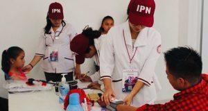 Estudiantes del IPN realizan servicio social en Huitzilan