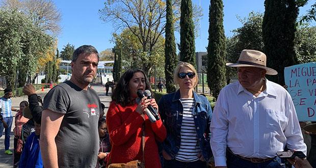 Eurodiputados visitan proyectos de muerte en Puebla y harán informe